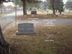 Barker, Andrew d. 1881 headstone